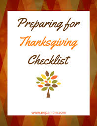 thanksgiving menu template an easy way to prepare for the