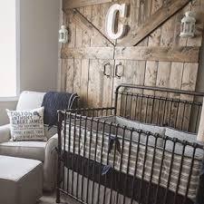 rustic baby nursery home design