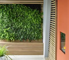 wall mounted herb garden indoor well appointed white modern