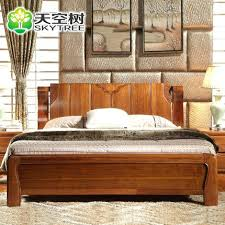 Solid Wood Bed Frames Walnut Wood Bed U2013 Bookofmatches Co