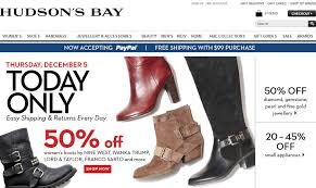hudson bay s boots hudson s bay one day sales 50 s boots dec 5