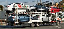 camion porta auto autocarro