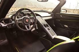 porsche spyder 911 car picker porsche 918 spyder interior images