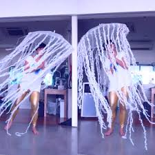 very proud of my made with daiso jellyfish costume diy