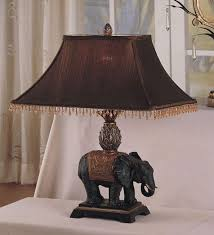 antique elephant style table lamp set is the perfect home or