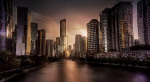 elevation of trump international hotel u0026 tower chicago n wabash