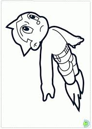 astro boy coloring pages coloring