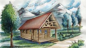 log cabin plan log houses log house designs from homeplans