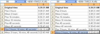 tom u0027s tutorials for excel adding and subtracting time in hours