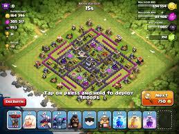 clash of clans farming guide the maze coc base clash of clans pinterest