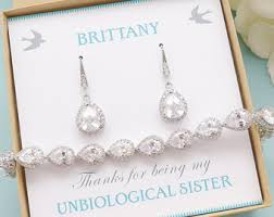 bridesmaid jewelry gifts bridesmaid jewelry etsy