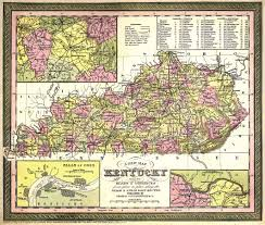 Ky County Map Kentucky Digital Map Library United States Digital Map Library