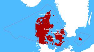 Map Of Denmark Borders Of Denmark Wikipedia