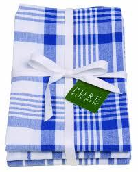 Waffle Weave Kitchen Towels Amazon Com Now Designs Jumbo Pure Kitchen Towel Set Of 3 Royal