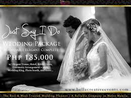 cheap wedding planner all categories wedding packages philippines creative