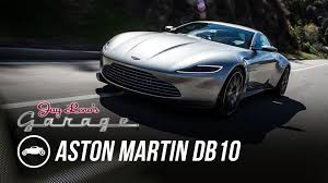 Aston Martin Db10 James Bond S Car From Spectre James Bond U0027s 2016 Aston Martin Db10 Jay Leno U0027s Garage Youtube