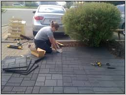 Recycled Rubber Patio Pavers Rubber Patio Pavers Also Rubber Square Patio Also Recycled