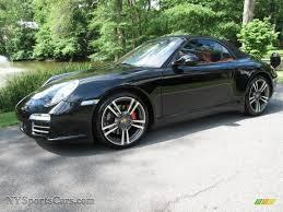 porsche carrera 911 4s 2009 porsche 911 carrera 4s cabriolet in black 756133