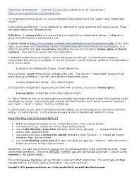 Colon Worksheet Worksheet Conjunctive Adverbs Worksheets Fiercebad Worksheet And