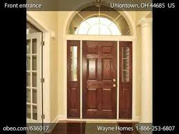 Wayne Home Floor Plans Ranch House Floor Plans Montgomery Youtube
