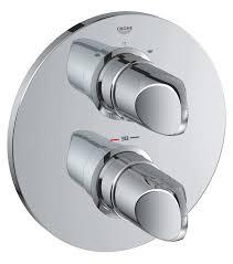 thermostatic shower bath valve mobroi com 54 bath shower mixer valve grohe thermostatic concealed body bath