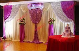 wedding backdrop fabric aliexpress buy wedding banquet decoration stage background