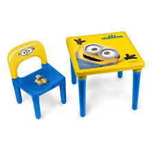 activity table and chairs minions my first activity table chair set with 30 piece creative