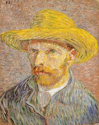 vincent van gogh 1853 1890 essay heilbrunn timeline of art self portrait with a straw hat obverse the potato peeler