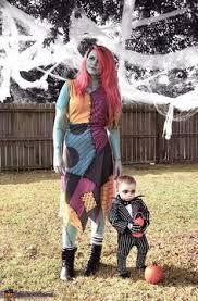 Jack Skellington Halloween Costume Sally Jack Skellington Diy Couples Halloween Costumes