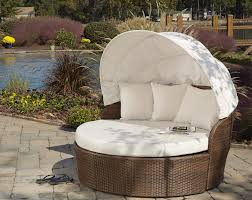 Outdoor Wicker Patio Furniture Round Canopy Bed Daybed - panama jack key biscayne wicker daybed wicker daybeds wicker