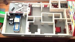 Suburban House Floor Plan by 3 Bed 2 Bath Suburban Lego Home Update 4 Cc Youtube