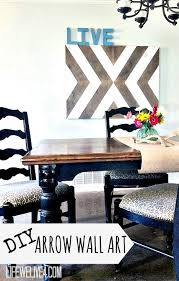 diy wooden arrow wall thats eclectic chic and cheap get