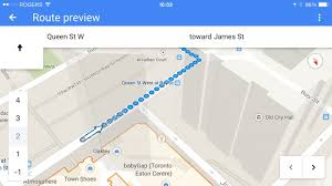 Google Maps And Directions Getting Haptic Feedback For Walking Directions In Google Maps