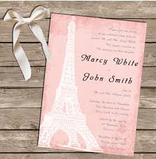 pdf wedding invitations paris pink wedding invitation digital file pdf jpeg
