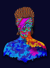 david bowie mosaic pop art coloring page for by ink88