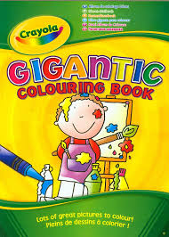 Crayola Gigantic 130 Page A4 Colouring Book Amazon Co Uk Toys Colouring Book