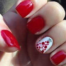 65 festive nail art ideas for christmas listing more