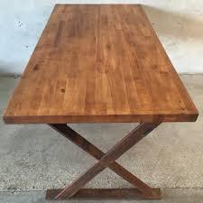 vintage butcher block table u2013 urbanamericana