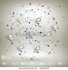 global network connection world map point stock vector 726623929