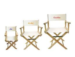 chaise metteur en sc ne b b chaise de metteur en maison design hosnya com