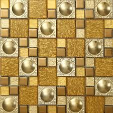 stainless steel mosaic tile backsplash luxury golden glass mixed stainless steel mosaic tile kitchen