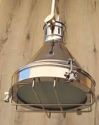 Nautical Pendant Light Chrome Finish Nautical Pendant Ceiling Light