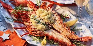 comment cuisiner un homard homards en chaud froid facile recette sur cuisine actuelle