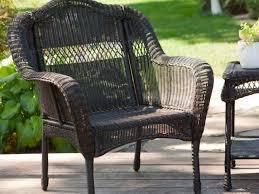 Resin Wood Outdoor Furniture by Patio 16 Rustic Garden Patio Decoration Black Resin Wicker