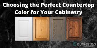 what color countertop looks with oak cabinets choosing the countertop color for your cabinetry