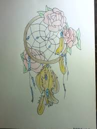 dreamcatcher and roses by 454 on deviantart