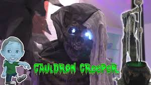 spirit halloween discount code cauldron creep animatronic halloween express animatronics