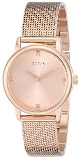 guess bracelet rose gold images Guess women 39 s u0532l3 diamond accented rose gold tone watch with jpeg
