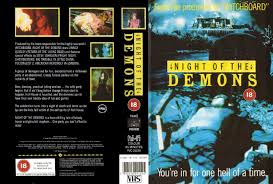 halloween horror nights 2008 the horrors of halloween night of the demons trilogy vhs and dvd