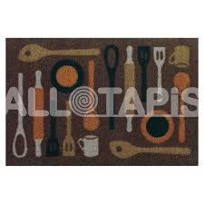 tapis de cuisine lavable en machine tapis de cuisine taupe lavable en machine en spoon
